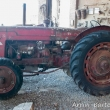 Trattore agricoli presso il Borgo di Grazzano Visconti