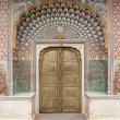 Portoncino al Royal Palace a Jaipur, in Rajasthan, India