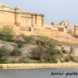 Amber Fort nei pressi di Jaipur, in rajasthan, India
