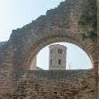Vista del campanile della Basilica di Sant'Apollinare Nuovo, Ravenna