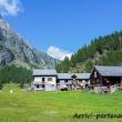 Abitazioni a Crampiolo presso l'Alpe Devero, Piemonte