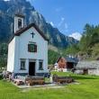 Oratorio San Bernardo a Crampiolo presso l'Alpe Devero, Piemonte