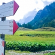 Indicazioni a Crampiolo presso l'Alpe Devero, Piemonte