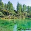 Lago delle Streghe a Crampiolo presso l'Alpe Devero, Piemonte