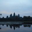 Angkor Wat all'alba, Cambogia