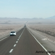 Strada cilena presso San Pedro de Atacama, Cile
