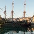 Galeone presso il Museo del Mare Galata, Genova