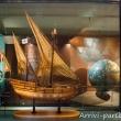 Modello di Caravella all'interno del Museo del Mare Galata, Genova