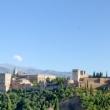 Vista dell'Alhambra di Granada in Andalusia, Spagna