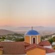 Panorama al tramonto di Kos, Grecia
