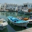 Presso il porto di Paros, Grecia