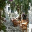 Ristorante presso Paros, Grecia