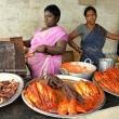 Venditrice di pesce, Mamallapuram