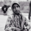 Bambina presso il Mar Caspio, Iran