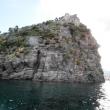 Verso Ischia Ponte - il Castello Aragonese particolare