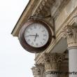 Orologio a fianco del Colonnato delle Terme di Karlovy Vary, Repubblica Ceca
