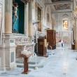 Interno della Cattedrale della Madonna della Bruna e di Sant'Eustachio, Matera