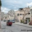 Risciò per trasporto dei turisti presso il Sasso Caveoso, Matera