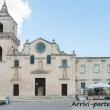 Vista esterna della Chiesa di San Pietro Caveoso, Matera