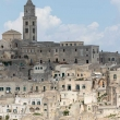 Vista panoramica del centro storico, Matera