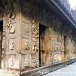Pagoda in teak, Mandalay