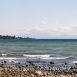 Costa presso il lago Taupo, Nuova Zelanda