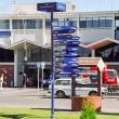 Presso l'aeroporto di Christchurch, Nuova Zelanda