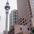 Sky Tower a Auckland, Nuova Zelanda