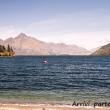 Lago Wakatipu nei pressi di Queenstown, Nuova Zelanda