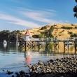 Nei pressi di Akaroa, Nuova Zelanda