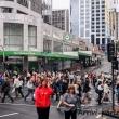 Passaggio pedonale presso Auckland, Nuova Zelanda