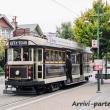 Tram per le strade di Christchurch, Nuova Zelanda