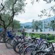 Parcheggio per biciclette a Riva del Garda, Trentino - Alto Adige