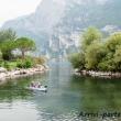 Sportivi sul kayak a Riva del Garda, Trentino - Alto Adige