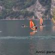 Windsurfs nei pressi di Riva del Garda, Trentino - Alto Adige
