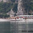 Imbarcazione nei pressi di Riva del Garda, Trentino - Alto Adige