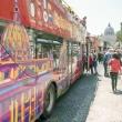 Bus per il tour, Roma