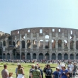 Colosseo e la sua folla, Roma