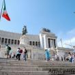 Scalinata presso Il Vittoriano, Roma