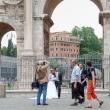 Sposi all'Arco di Costantino, Roma