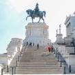 Statua equestre di Vittorio Emanuele II presso il Vittoriano, Roma