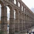 Acquedotto romano a Segovia, Spagna