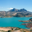Embalse de Zahara-El Gastor in Andalusia, Spagna