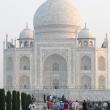 Vista del Taj Mahal dall'ingresso - Agra, India