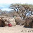 Presso una tribù Masai, Tanzania