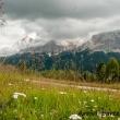 Panorama presso Pralongià, Val Badia