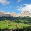 Vista nei pressi del lago di Sompunt, Val Badia