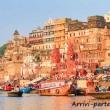 I Ghat di Varanasi, Uttar Pradesh, India