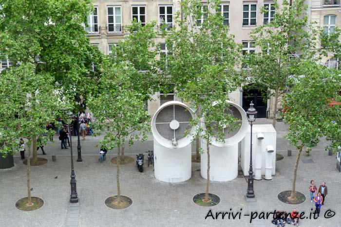 Nei pressi del Centro Pompidou, Parigi