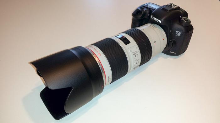 Canon eos 7D mark II e 70-200 f 2.8 USM II
